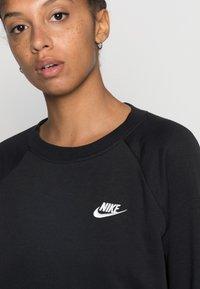 Nike Sportswear - CREW - Felpa - black/white - 4