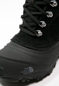 The North Face - Y CHILKAT LACE II - Winter boots - tnf black/zinc grey - 5