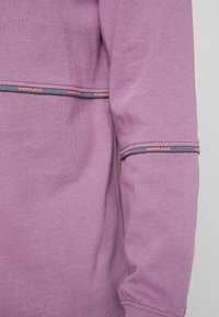 Mennace - UNISEX BRANDED PIPING - Sweatshirt - purple - 5