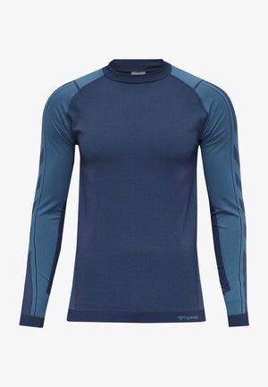 Langærmede T-shirts - blue sapphire/medieval blue