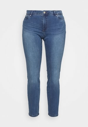 VMMANYA - Jeans slim fit - medium blue denim