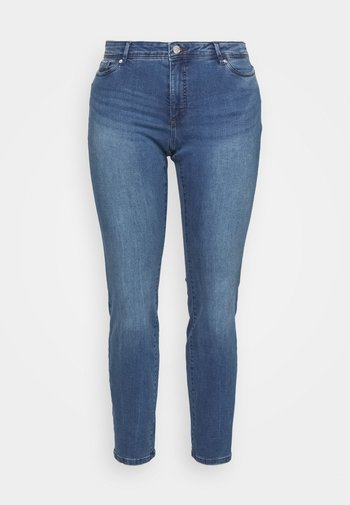 VMMANYA - Slim fit jeans - medium blue denim