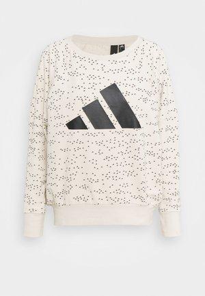 WIN CREW - Sweatshirt - mottled grey