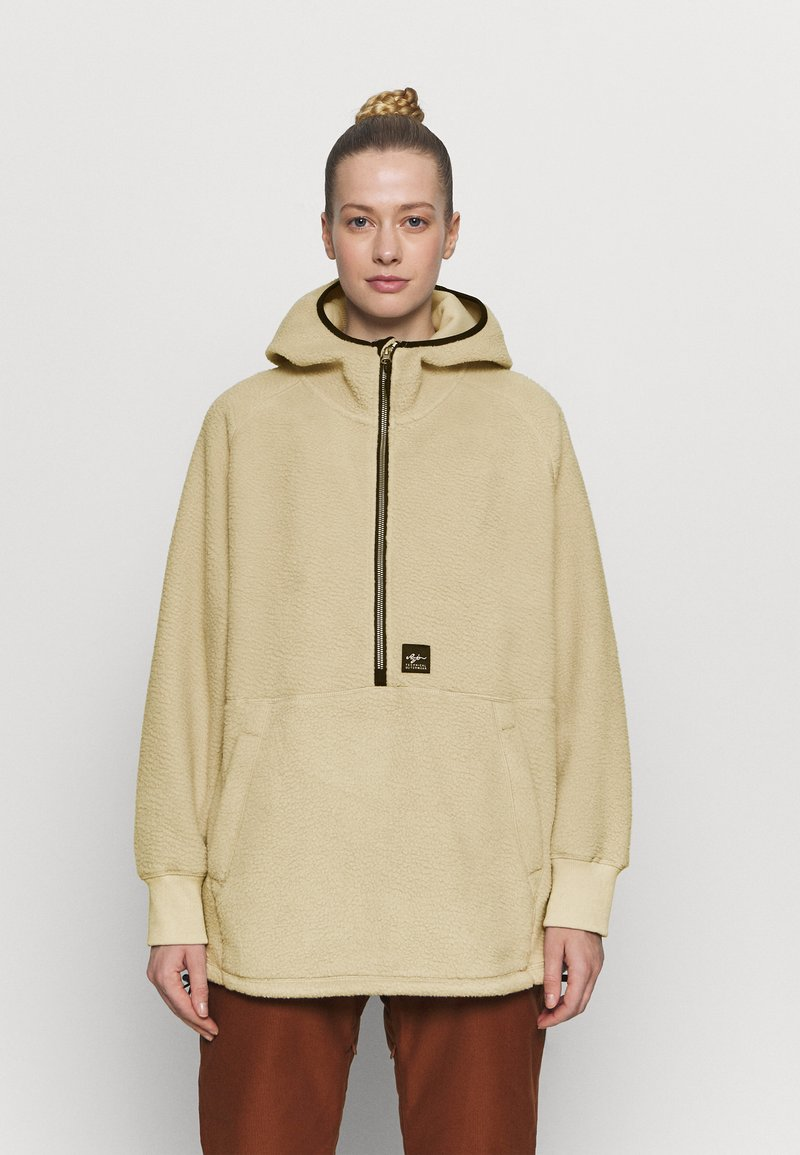 Rojo - SHELBY SHERPA HOODIE - Sweat polaire - natural