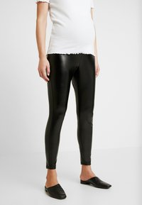 GAP Maternity - FAUX LEGGING - Legging - true black - 0