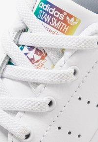 adidas Originals - STAN SMITH - Trainers - footwear white/core black - 2