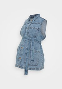 Pieces Maternity - PCMNAMIR - Liivi - medium blue denim - 0