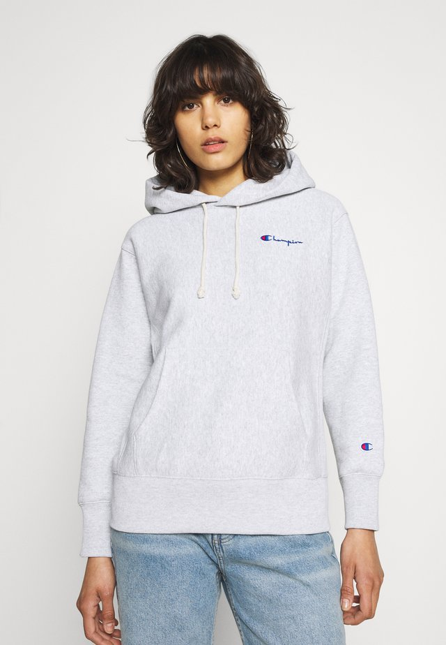 HOODED FULL - Sweater - grey