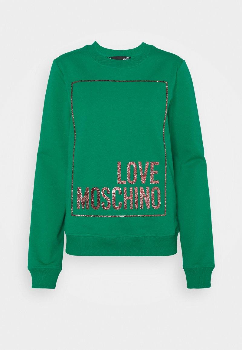 Love Moschino - Sweatshirt - green
