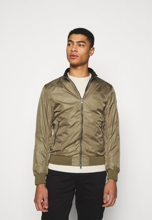 MENS REVERSIBLE JACKETS - Summer jacket - olive