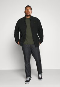 Pier One - Fleece jacket - black - 1