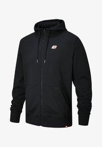 New Balance - Zip-up sweatshirt - black - 0