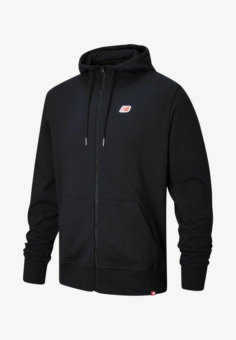 New Balance - Zip-up sweatshirt - black