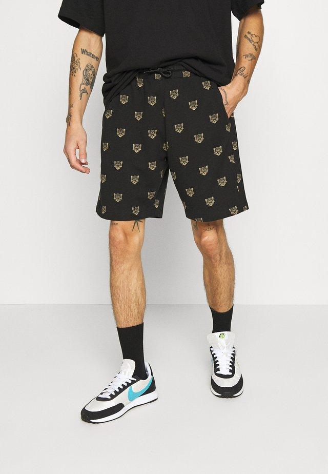 JENSONLEO - Shorts - black/gold