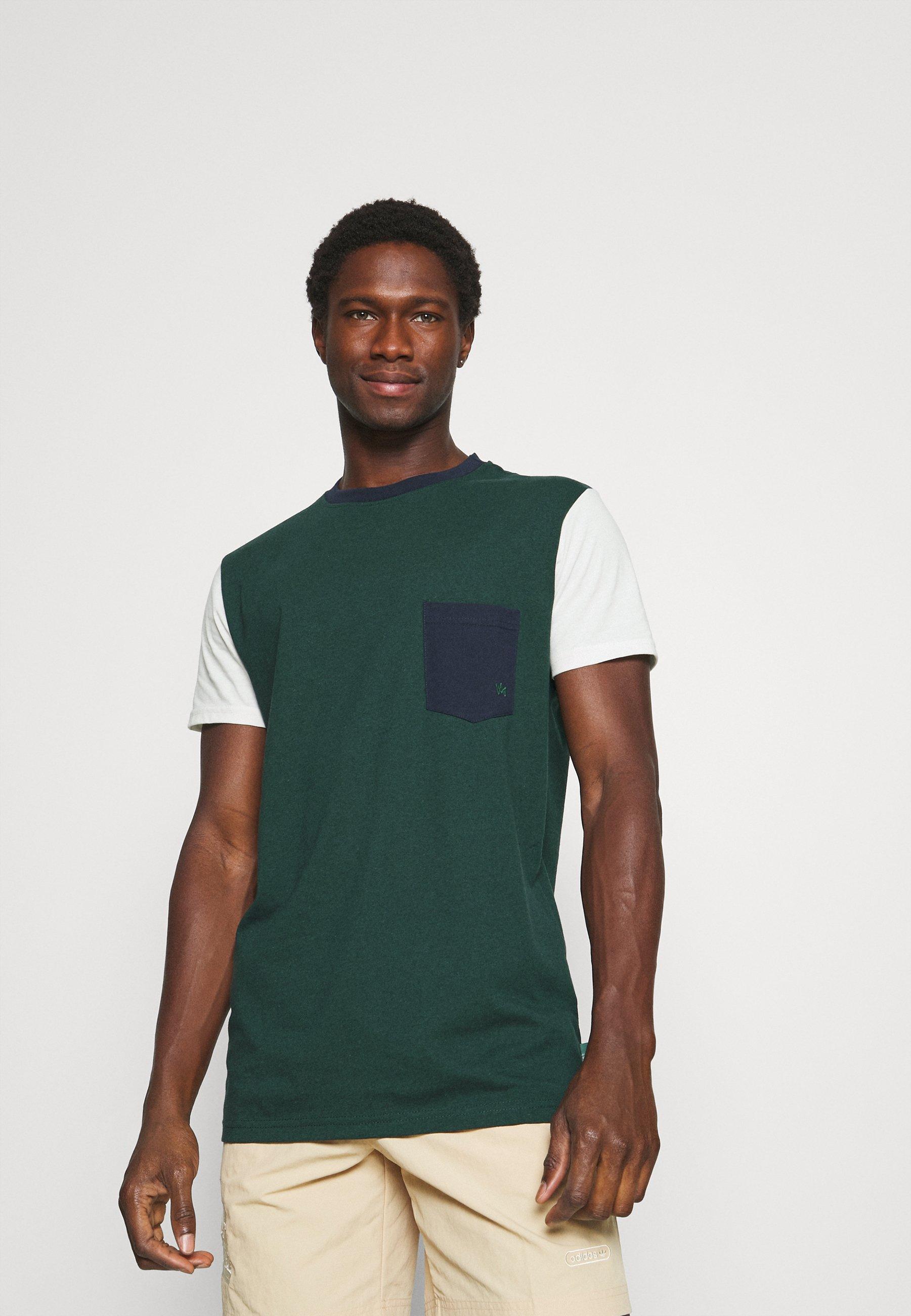 Men TIMMI COLOR BLOCK TEE - Print T-shirt