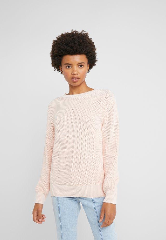 Svetr - soft pink