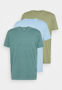 Burton Menswear London - DUCKEGG 3 PACK - T-shirt basic - multi - 6