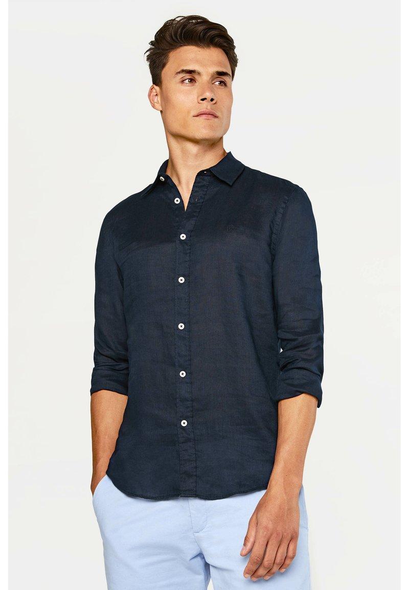 WE Fashion - SLIM-FIT - Košile - dark blue