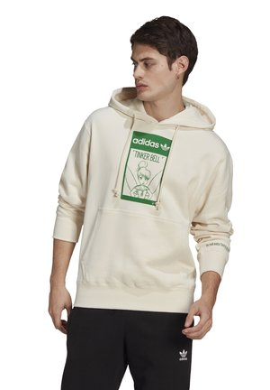 TINKERB GRAPHICS SWEATSHIRT HOODIE - Sweatshirt - off-white
