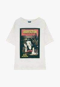 PULL&BEAR - BETTY BOOP BOOPFICTION - T-shirt med print - white - 4