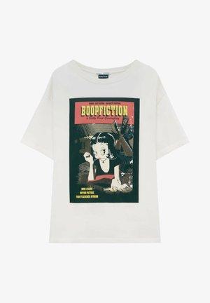 BETTY BOOP BOOPFICTION - Print T-shirt - white