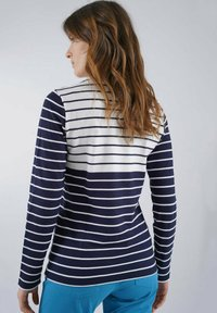 Armor lux - MARINIERE - Long sleeved top - marine deep/blanc - 1