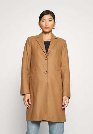 SINGLE BREASTED WELT POCKETS - Classic coat - true camel