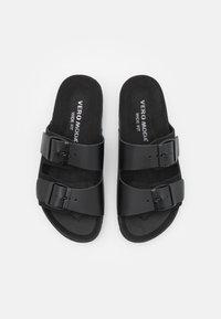 Vero Moda Wide Fit - VMCARLA WIDE FIT  - Tøfler - black - 5