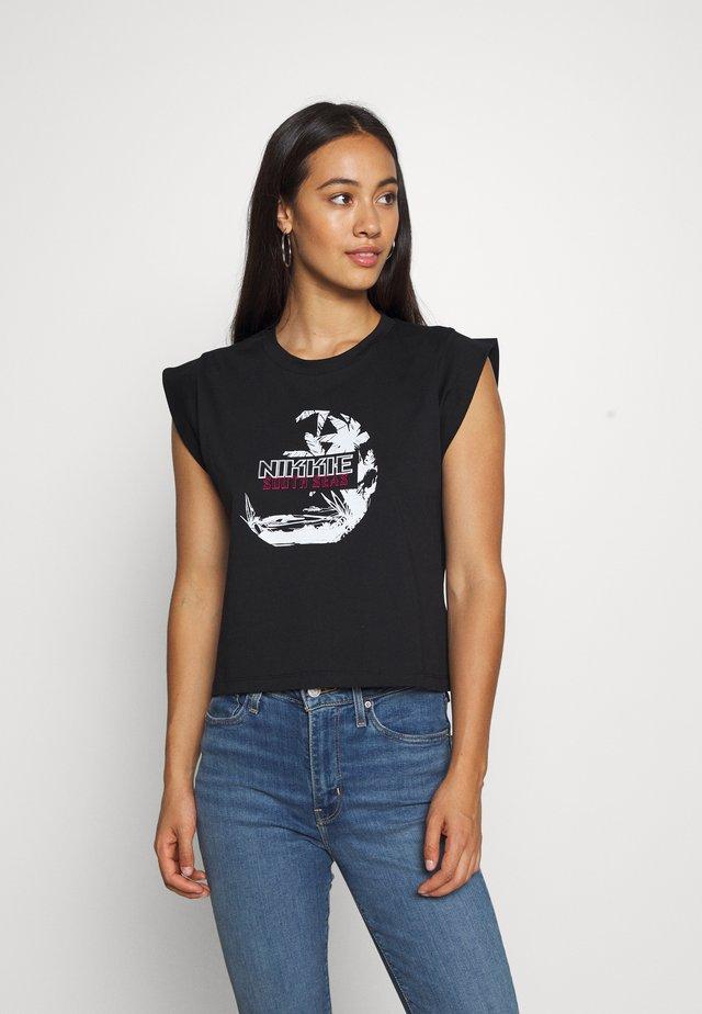 SOUTH SEAS - Print T-shirt - black