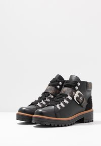 Guess - IRVIN - Ankle boots - black/brass - 4