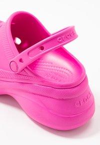 Crocs - CLASSIC BAE  - Heeled mules - electric pink - 2