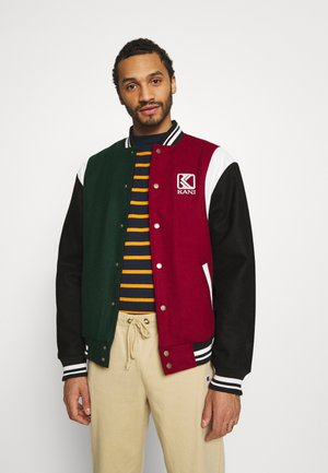 BLEND COLLEGE JACKET - Chaquetas bomber - darkred