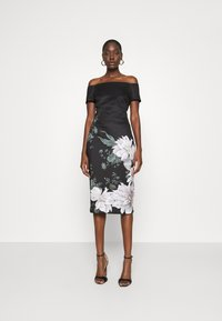 Ted Baker - PEAONY - Shift dress - black - 0