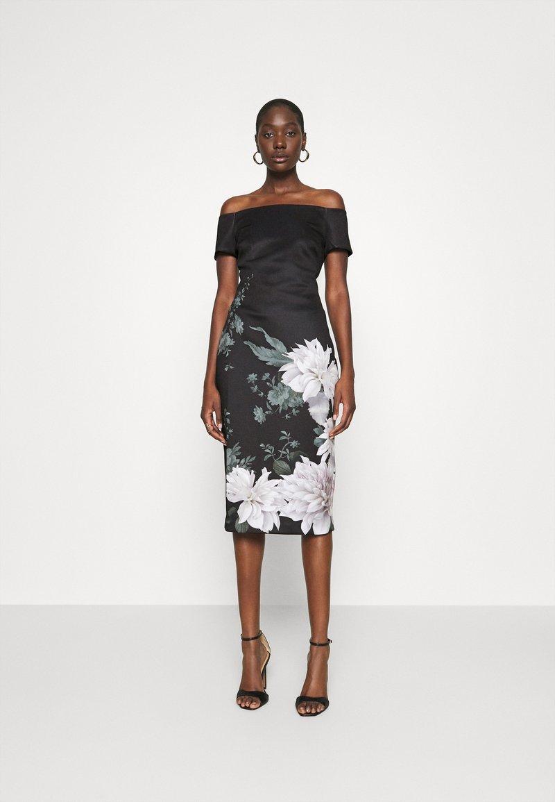 Ted Baker - PEAONY - Shift dress - black