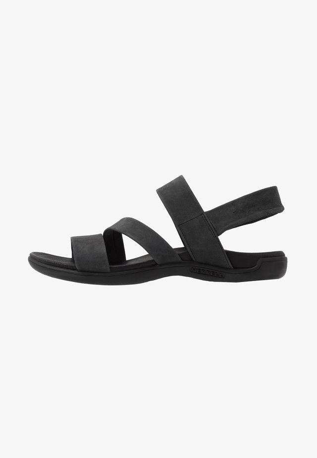 DISTRICT KANOYA STRAP - Sandales de randonnée - black