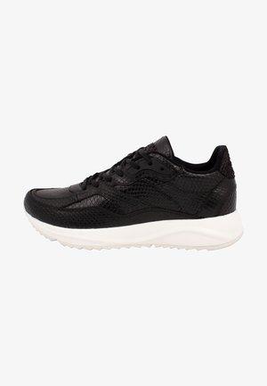 SOPHIE SNAKE - Sneakers laag - black