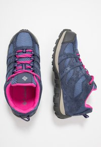 Columbia - YOUTH REDMOND WATERPROOF - Hiking shoes - bluebell - 0