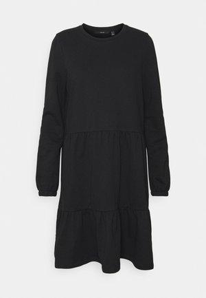 VMAYAOCTAVIA NECK DRESS  - Robe en jersey - black