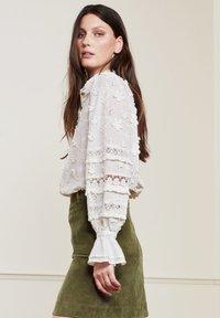 Fabienne Chapot - Button-down blouse - cream white - 2