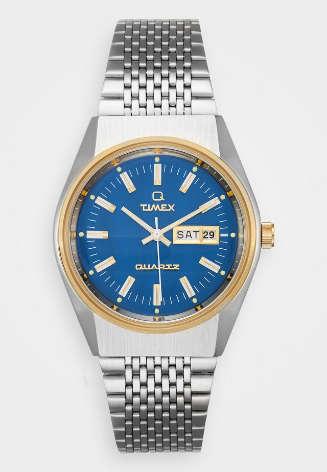 Q EYE REISSUE - Montre - silver-coloured/blue