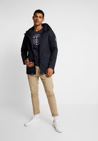 Makia - FISHTAIL JACKET - Parka - dark navy - 1