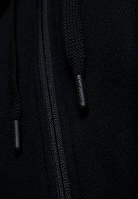 Lacoste Sport - veste en sweat zippée - black/corrida/pitch chine - 6