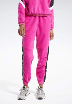 MYT WARM-UP JOGGERS - Tracksuit bottoms - pink
