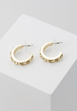 NOCTURNE SMALL OVAL EAR - Earrings - gold-coloured