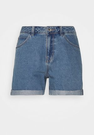 VMNINETEEN MIX - Jeansshorts - light blue denim