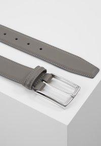 Anderson's - SMOOTH BELT SEAM - Pásek - grey - 2