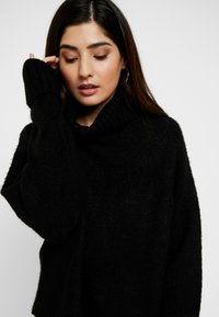 Missguided Petite - BATWING - Pullover - black - 3