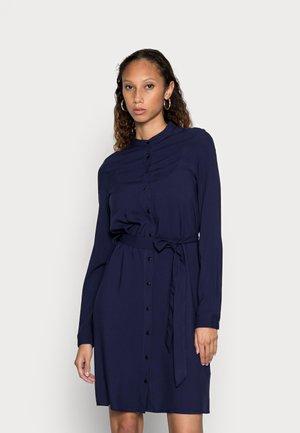 BLOUSE SHORT DRESS - Paitamekko - dark blue
