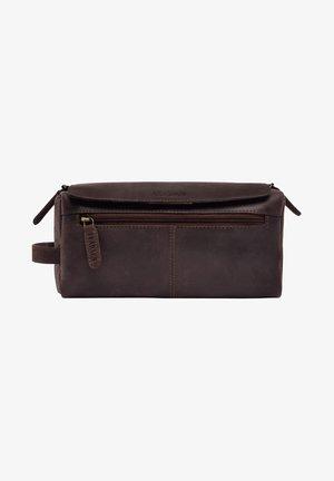 PALM SPRINGS - Wash bag - mottled brown