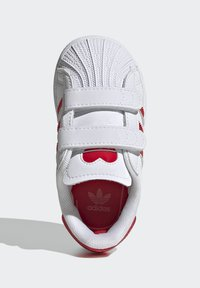 adidas Originals - SUPERSTAR SHOES - Sneakers laag - ftwr white/vivid red - 1